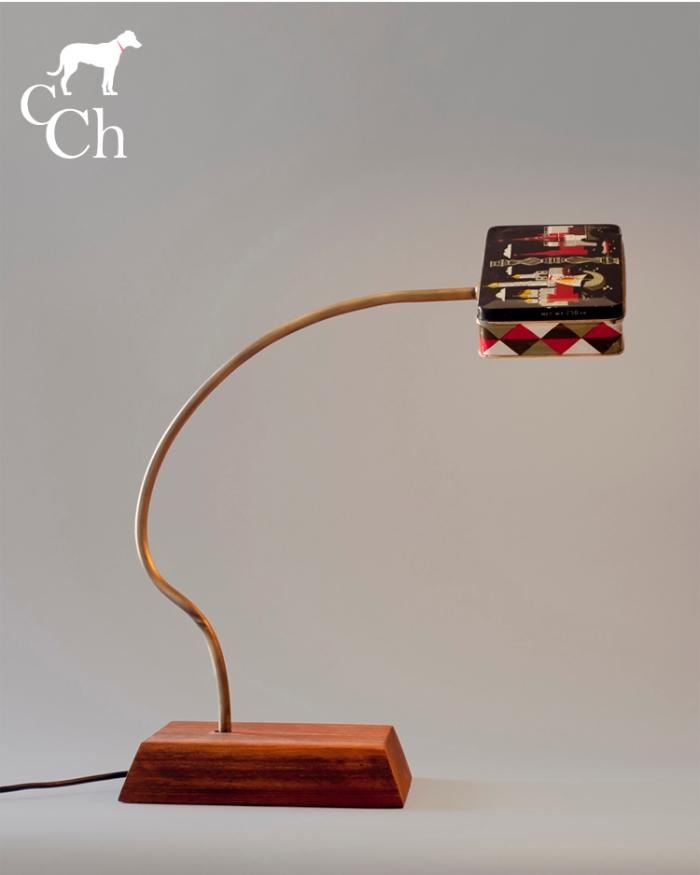 lamparas diseñadas con latas de coleccionismo. MOSCOW