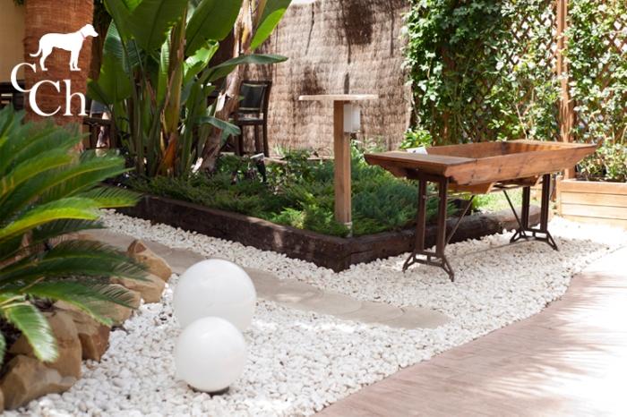 Diseño macetero para exterior exterior y jardin.